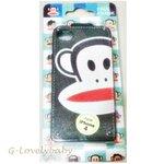 เคสไอโฟน4 เคสกระเป๋าหนัง Paul Frank iPhone4 iPhone4s Leather Case