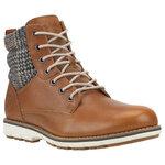 รองเท้าของแท้ Timberland BREWSTAH 6 inch warm boots BROWN W / TEXTILE 9741B size 42