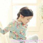 เสื้อผ้าเด็กผู้หญิง แขนยาวลายดอกไม้ Phelfish