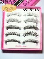 5-13 ขนตาปลอม 5 คู่ มี 5 แบบ (ขายปลีก)