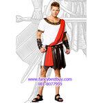 ชุดแฟนซีชุดนักรบโรมันหรือชุดนักรับกรีก รุ่นนี้มีปลอกแขน 1 คู่ ขนาดฟรีไซด์
