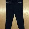 เอว42-46 แบรนด์ CANDA กางเกงทำงานคนอ้วน Slim Fit ผ้า polyester&spandex กระบอกเล็ก สีกรม