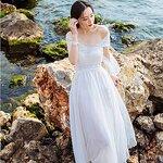 Maxi dress ชีฟองสไตล์โบฮีเมียน มี 2 สี ขายดี [ขายส่ง900.-*]