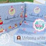 Melasma White Set เซ็ตรักษาฝ้า กระ