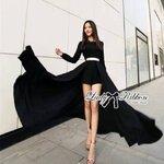 Lady Ribbon's Made Lady Nicole Glam Chic Evening-wear Maxi Dress