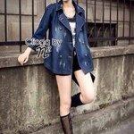 Cliona's made, Nina Bell Denim Cover Coat
