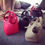 กระเป๋าถุงสไตล์เกาหลี มี 3 สี [ขายส่ง 250.-]