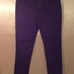 เอว37-39 แบรนด์ Yessica กางเกงคนอ้วน กางเกงยีนส์ยืด skinny กึ่ง ทรงกระบอก สีดำเนื้อทอด้ายขาวแซมๆ