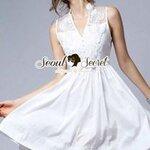 Seoul Secret Say's... Ivory Ladiest A Dress