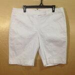 เอว36-40 งานเกรดห้าง กางเกงคนอ้วน ผ้า cotton&spandex สีขาว สวยมาก ขาสามส่วน เอวป้าย
