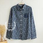 เสื้อเชิ้ตยีนส์ สไตล์ญี่ปุ่น งานคัตติ้ง [ขายส่ง550.-*]