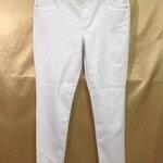เอว37-39 แบรนด์ Simply Vera กางเกงคนอ้วน กางเกงยีนส์ยืดเนื้อนิ่มมาก ใส่สบายขายาว สีขาว
