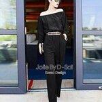Jolie By D-Sai JumpSuit ~ Korea Design