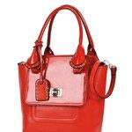 preorder กระเป๋าแฟชั่น maomaobag สีแดง แบบสะพาย พร้อมกระเป๋าใบเล็กข้างในค่ะ เริ่ดมาก