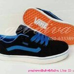 รองเท้าแวน vans Old Skool สีดำน้ำเงิน (37-40)
