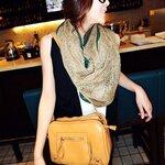 pre-order กระเป๋าแฟชั่น maomaobag สี กากี มีสายสะพายยาว สวยมากค่ะ