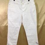 เอว37-39 แบรนด์ JENNIFER LOPEZ กางเกงคนอ้วน กางเกงยีนส์ยืดเนื้อนิ่มมาก ใส่สบายขายาว สีตรีม