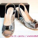 รองเท้า Chanel ส้นสูง กากเพชร  (36-39)