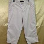 เอว36-38 แบรนด์ Calvin Klein Jeans กางเกงคนอ้วน ผ้าคอตต้อนเนื่อนุ่ม สีกากี ขาห้าส่วนมีสายรัดปลายขา