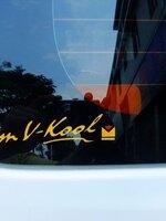 สติ๊กเกอร์ I'M V-KOOL ขนาด 19 CM (1Pack/2ชิ้น)