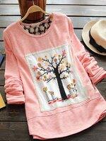 เสื้อคลุมท้องแขนยาว สีชมพุ ผ้ายืดเนื้อนิ่มค่ะ สวมใส่สบาย ค่ะ