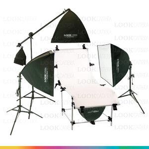 D3 โต๊ะถ่ายภาพสินค้าแบบปรับองศาได้ 60x130 + SOFTBOX 4040