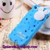 Case iPhone 4/4s iPhone 5 ลาย ชีสเคส (Mouse&Chese) สีฟ้า