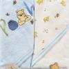 ผ้าห่อตัวลายหมีพูห์เซต 2 ผืน (30 x 30)