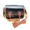 Medium Fashion Camera Bag (หนังดำ)