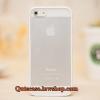 Case iPhone 4/4s iPhone 5 iPhone6/6plus ขอบสีขาว ด้านหลังสีขุ่น