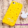 Case iPhone 4/4s iPhone 5 ลาย ชีสเคส (Mouse&Chese) สีเหลือง