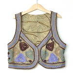 """Vintage Embriodery Vest (Bust 360"""")"""