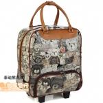 กระเป๋าเดินทางล้อลาก 24 นิ้ว ลาย Teddy Bear รุ่น Limited Edition