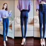 PRE-ORDER กางเกงยีนส์แฟชั่นใหม่ 2014 กางเกงขายาวผ้ายีนส์เข้ารูปทรงสวย
