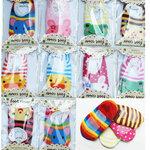 (พร้อมส่ง) ถุงเท้ากันลื่น Baby Fancy Sock (แพคละ 3 คู่)