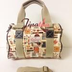 กระเป๋าทรงหมอน Chalita wu ลายวินเทจ