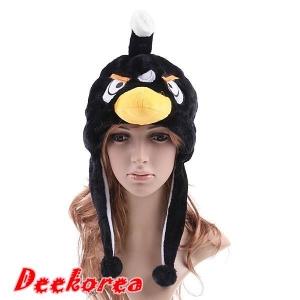 หมวกแฟนซีสัตว์ แองกี้เบิร์ด สีดำ มาแรง ไม่เหมือนใคร 140 บาท
